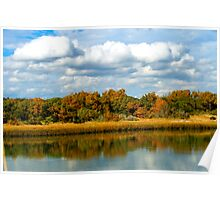 What a Beautiful Fall Day in Pawleys Island Poster