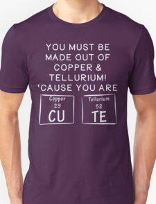 Copper and Tellurium CUTE T Shirt T-Shirt