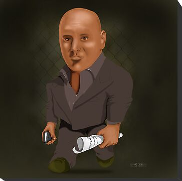 Caricature of Dana White by ANDIBLAIR