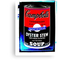 campbells-soup-can-red-tax-the-dead Canvas Print