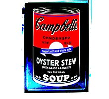 campbells-soup-can-red-tax-the-dead Photographic Print