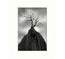 Horror Tree Art Print