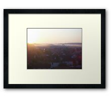 Automn in Migennes - Oct 2011 Framed Print