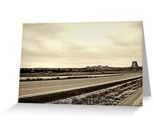Road to Hell Greeting Card
