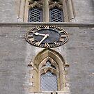 Church clock. by Mark  Humphreys