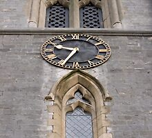Church clock. by Mark  Humphreys