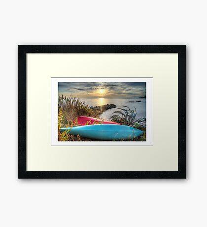 Hdr Landscape Framed Print