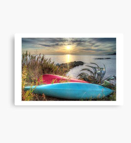 Hdr Landscape Canvas Print