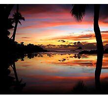 Carribean Sunset Photographic Print