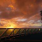 Sunrise at sea by PhotosByG
