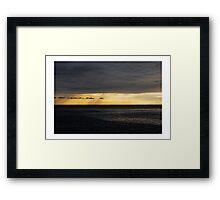 Low Sky Framed Print