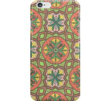 Coloring: Green tiles  iPhone Case/Skin