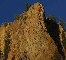 Yellostone Awesome Cliffs by Happystiltskin