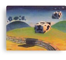 Wake up - the coobs are on the moove Canvas Print