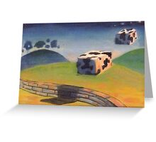 Wake up - the coobs are on the moove Greeting Card