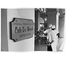 Cafe Du Monde, New Orleans Poster