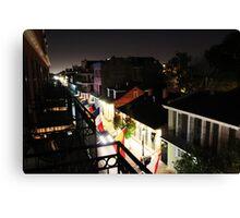 Darkness Over Dauphine Street Canvas Print