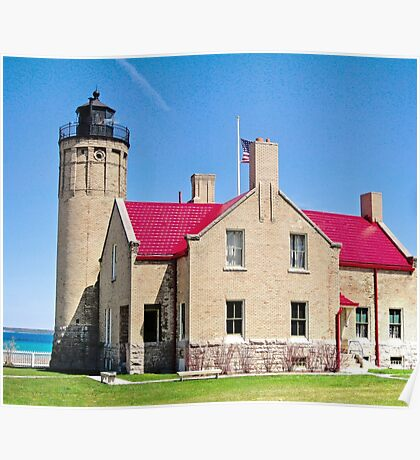 Historic Mackinaw Point Poster