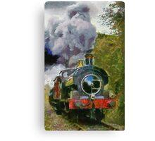 Locomotive à vapeur  Canvas Print
