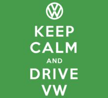 Keep Calm and Drive VW (Version 01) One Piece - Short Sleeve