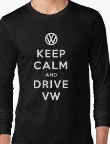 Keep Calm and Drive VW (Version 01) Long Sleeve T-Shirt