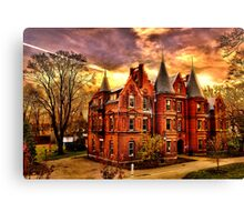 Wellesley College,Schneider Center Canvas Print
