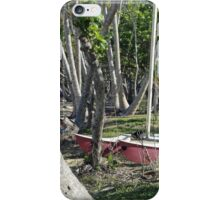 Bingil Bay boat and trees iPhone Case/Skin