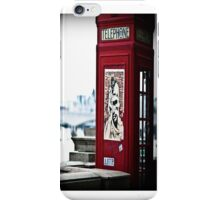 london phone box iphone case iPhone Case/Skin