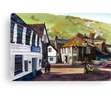 The Slipway - Port Isaac, Cornwall Canvas Print
