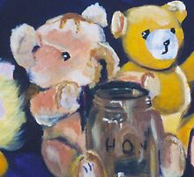 Teddy Bears by STHogan
