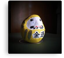 blind daruma Canvas Print