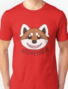 Cute Red Panda Grin Unisex T-Shirt