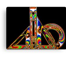 Electric Geometry 2 Canvas Print