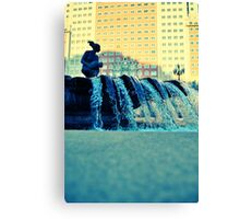 Plaza España fountain Canvas Print
