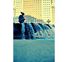 Plaza España fountain Photographic Print