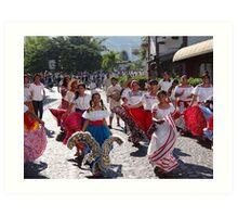 History, Tradition and Culture - this is Mexico - Historia, tradicion y cultura - este es Mexico Art Print