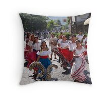 History, Tradition and Culture - this is Mexico - Historia, tradicion y cultura - este es Mexico Throw Pillow