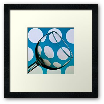 Polka Dot Glass by Steve Purnell