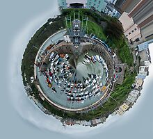 Planet Tenby Harbour Pembrokeshire by Steve Purnell