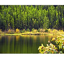 Salmon Lake Reflections Photographic Print