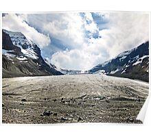 Receding Glacier Poster