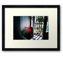 mini chair Framed Print