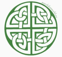 Celtic Knot n2 Green Kids Clothes