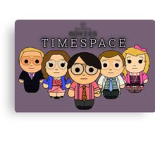 Timespace - Black Box Films: BOXIES Canvas Print