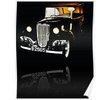 A Bonnie & Clyde ride Poster