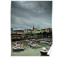 Tenby Harbour Pembrokeshire 6 Poster