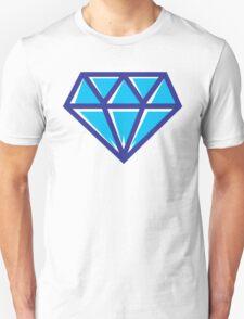 Diamond - Blue Unisex T-Shirt