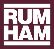 Rum Ham - Always Sunny in Philadelphia (White) by Neil K