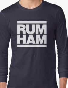 Rum Ham - Always Sunny in Philadelphia (White) Long Sleeve T-Shirt