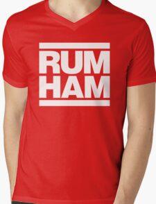 Rum Ham - Always Sunny in Philadelphia (White) Mens V-Neck T-Shirt